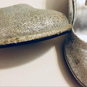 Little Angels Shoes - Little Angel Girls Glitter Silver High Heels